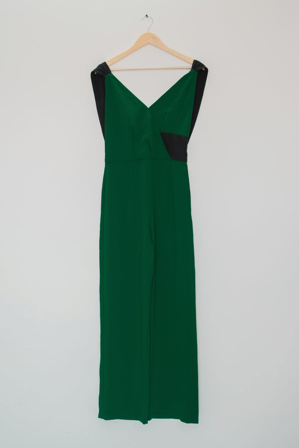 Preowned - Bottle green Jumpsuit