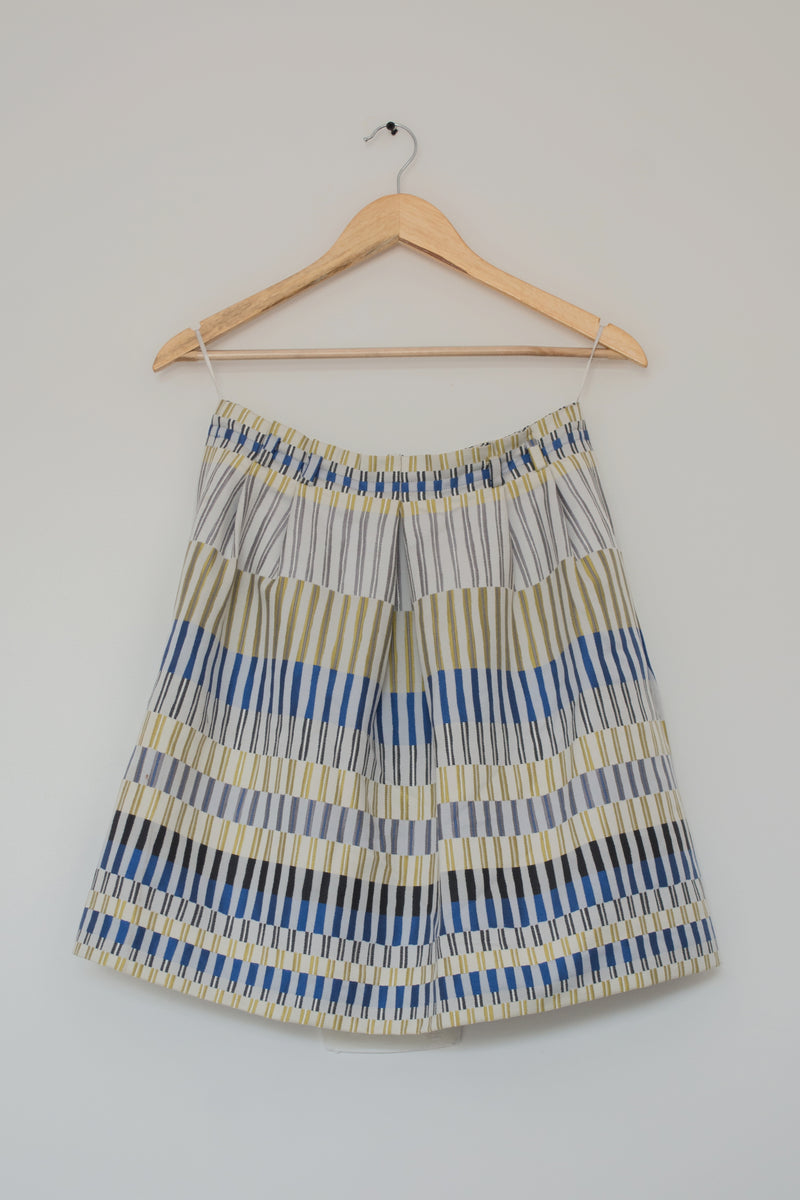 Preowned - Box Pleated Skirt