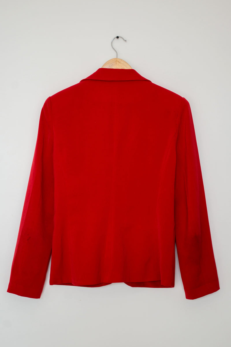Preowned - Red Blazer