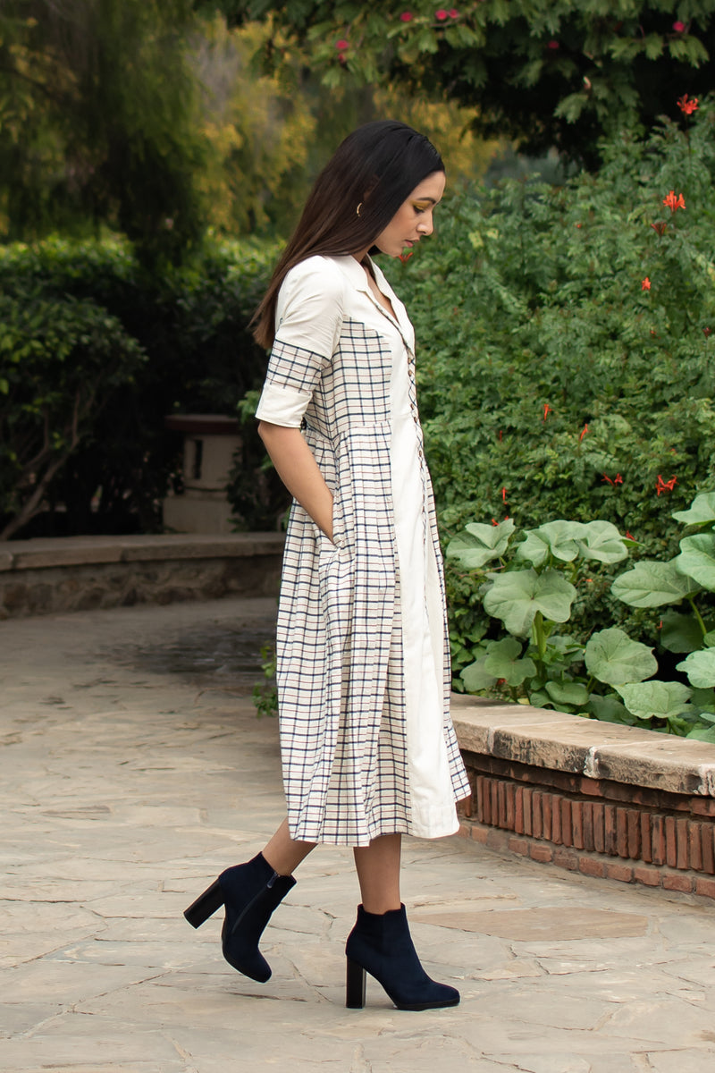 Chausar Button down Dress