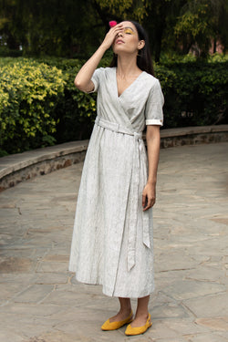 Khatati Wrap Dress