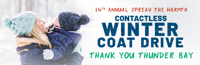 GEAR UP FOR OUTDOORS 14th ANNUAL SPREAD THE WARMTH CONTACTLESS WINTER COAT DRIVE - 2020
