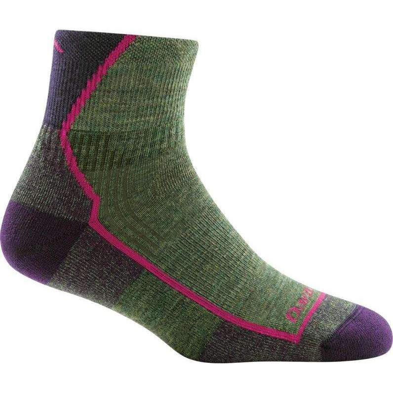 Darn Tough Womens 1/4 Cushion Hiker Sock,WOMENSSOCKSMEDIUM,DARN TOUGH,Gear Up For Outdoors,