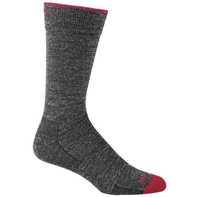 Darn Tough Mens Solid Crew Light Sock,MENSSOCKSLIGHT,DARN TOUGH,Gear Up For Outdoors,