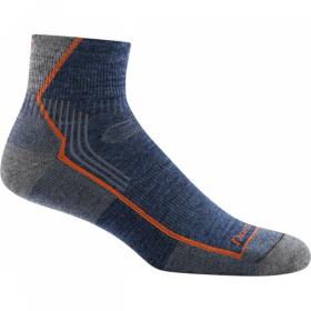 Darn Tough Mens 1/4 Cushion Hiker Sock,MENSSOCKSMEDIUM,DARN TOUGH,Gear Up For Outdoors,