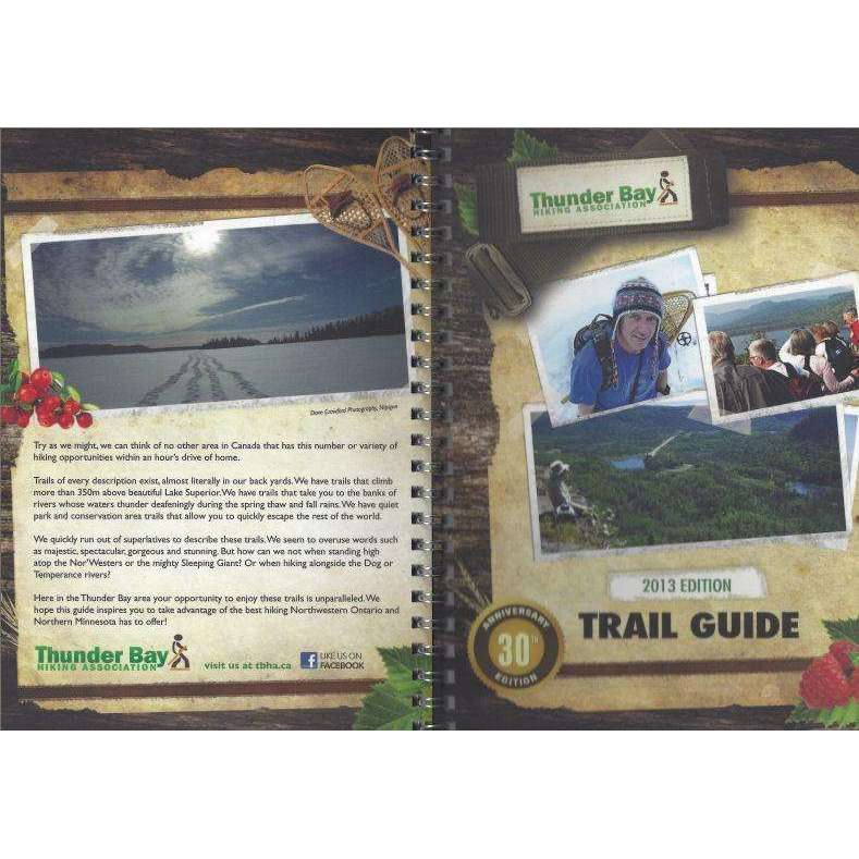 Thunder Bay Trail Guide 30th Anniversary Edition,EQUIPMENTTRADESBOOKS,THUNDER BAY HIKING ASSOCIATION,Gear Up For Outdoors,