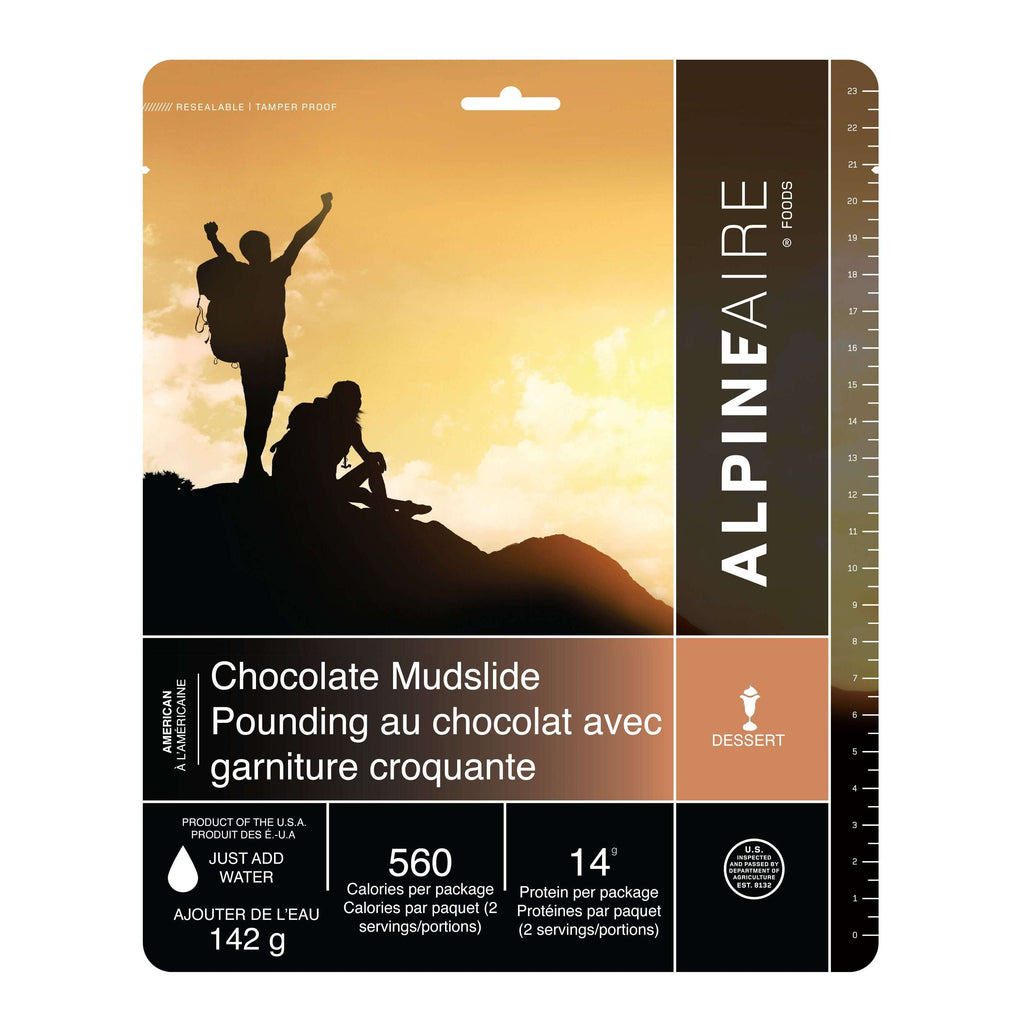 AlpineAire Chocolate Mudslide New Packaging,EQUIPMENTCOOKINGFOOD,ALPINEAIRE FOOD,Gear Up For Outdoors,