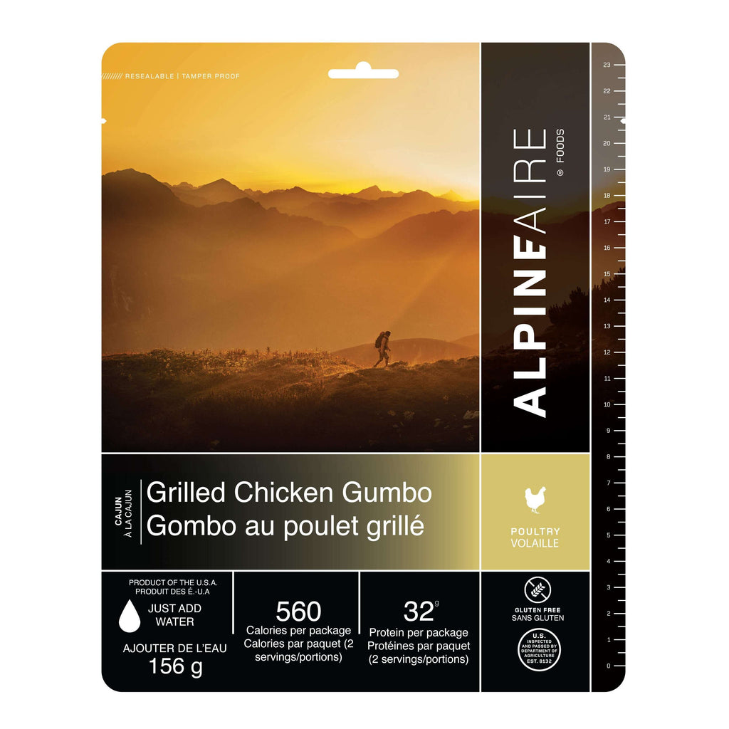 AlpineAire Grilled Chicken Gumbo New Packaging,EQUIPMENTCOOKINGFOOD,ALPINEAIRE FOOD,Gear Up For Outdoors,