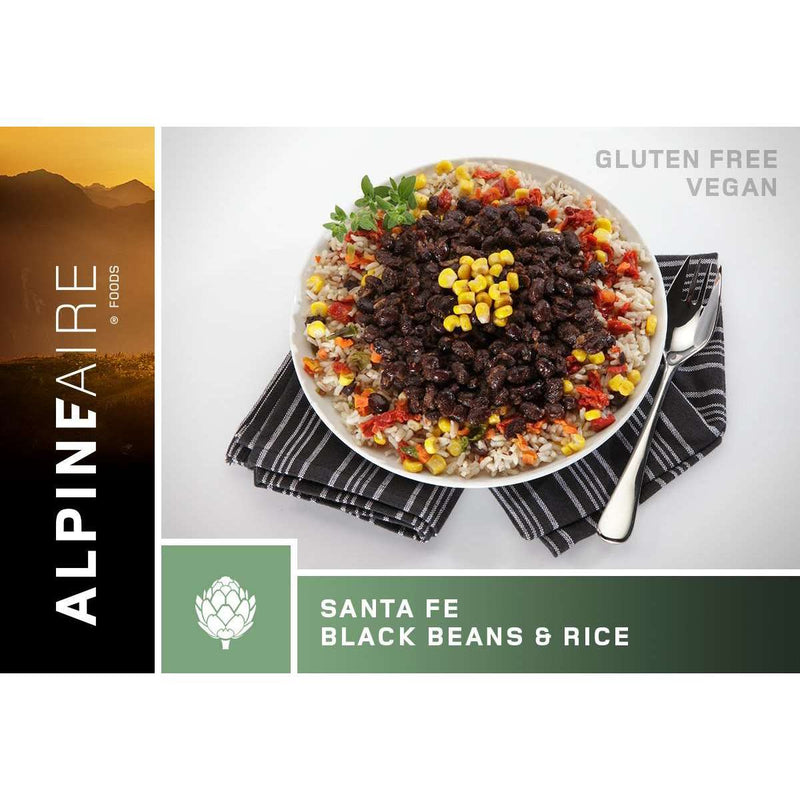 AlpineAire Santa Fe Black Bean & Rice Vegetarian New Packaging,EQUIPMENTCOOKINGFOOD,ALPINEAIRE FOOD,Gear Up For Outdoors,