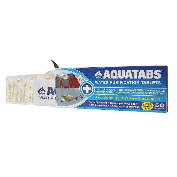 Aquatabs Water Purification Tablets,EQUIPMENTHYDRATIONWAT TRTMNT,AQUATABS,Gear Up For Outdoors,
