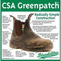 Blundstone CSA Greenpatch Rubber Toe Cap Safety Boot,MENSFOOTWEARSAFTEY CSA,BLUNDSTONE,Gear Up For Outdoors,