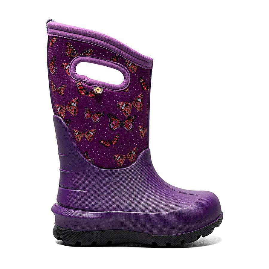 Bogs Kids Neo-Classic Butterflies Boot,KIDSFOOTWEARINSLD BOOT,BOGS,Gear Up For Outdoors,