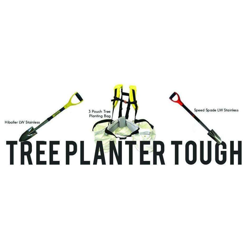 Bushpro Hiballer LW Stainless Steel Tree Planting Shovel - Long Handle,EQUIPMENTTRADESPLNTG SHVL,BUSHPRO,Gear Up For Outdoors,
