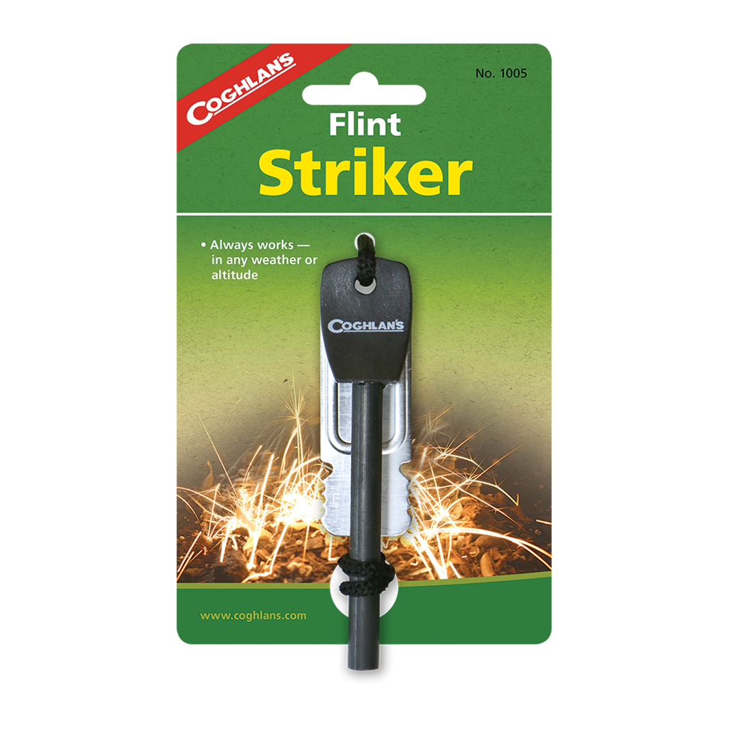 Coghlan's Flint Striker Fire Starter,EQUIPMENTLIGHTFIRE,COGHLANS,Gear Up For Outdoors,