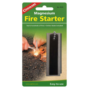 Coghlan's Magnesium Fire Starter,EQUIPMENTLIGHTFIRE,COGHLANS,Gear Up For Outdoors,