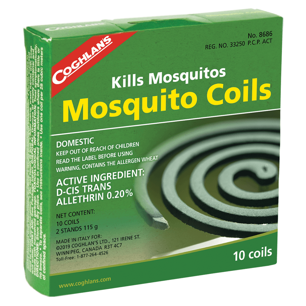 Coghlan's Mosquito Coils - 10/Pack,EQUIPMENTPREVENTIONBUG STUFF,COGHLANS,Gear Up For Outdoors,