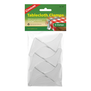Coghlan's Tablecloth Clamps - 6 Pack,EQUIPMENTCOOKINGACCESSORYS,COGHLANS,Gear Up For Outdoors,