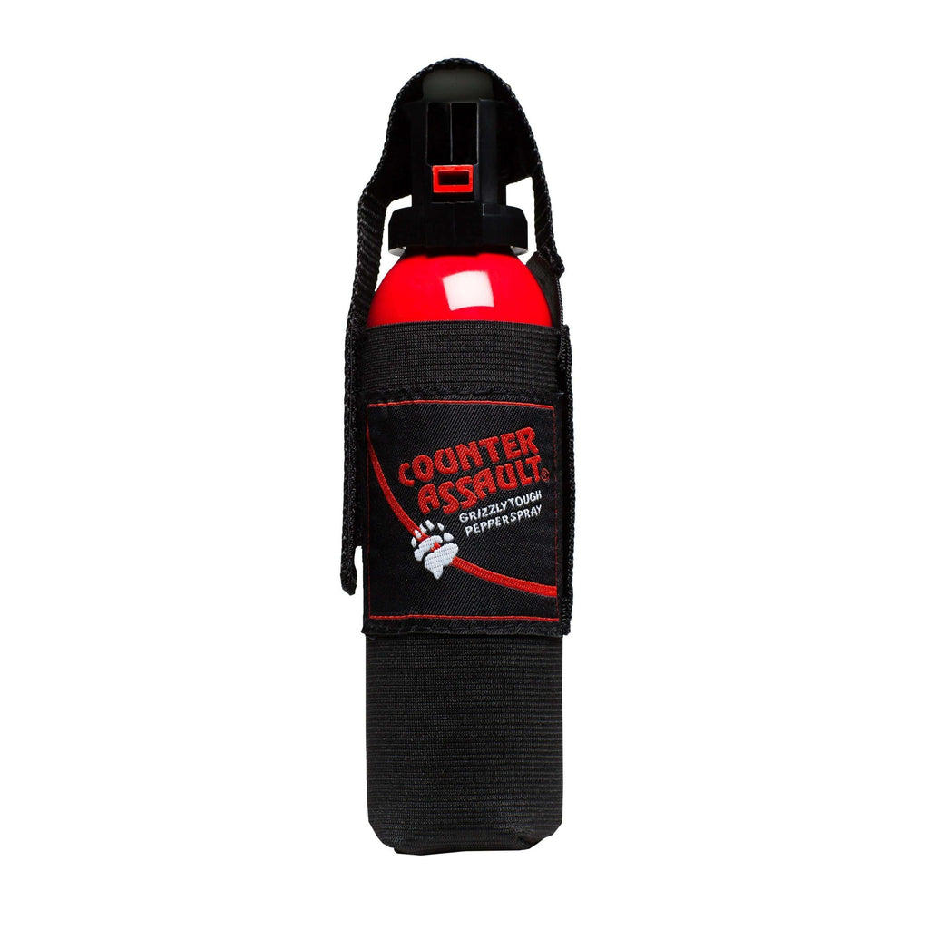 Counter Assault Bear Spray with Holster 290g,EQUIPMENTPREVENTIONBEAR SPRAY,COUNTER ASSAULT,Gear Up For Outdoors,