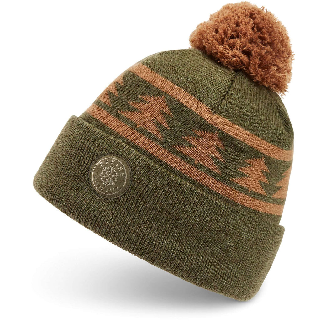 Dakine Merino Jack Pine Merino Pom Beanie,UNISEXHEADWEARTOQUES,DAKINE,Gear Up For Outdoors,
