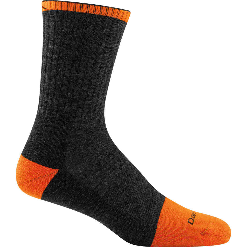 Darn Tough Mens Steely Micro Crew Cushion Work Sock,MENSSOCKSMEDIUM,DARN TOUGH,Gear Up For Outdoors,