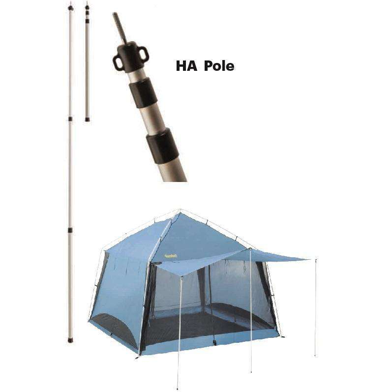 Eureka Aluminum HA Height Adjustment Pole - 9 Foot,EQUIPMENTTENTSACCESSORYS,EUREKA,Gear Up For Outdoors,