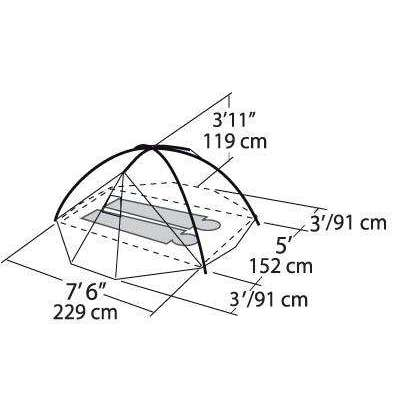 Eureka El Capitan 2 Tent (2 Person/3 Season),EQUIPMENTTENTS2 PERSON,EUREKA,Gear Up For Outdoors,