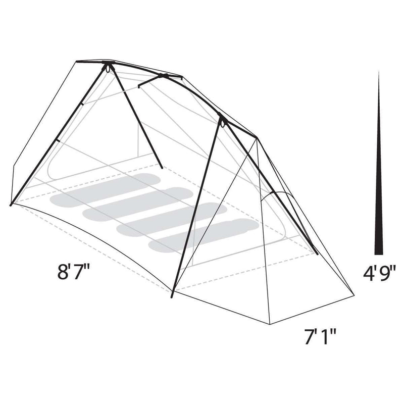 Eureka Timberline SQ Outfitter 4 Tent (4 Person/3 Season),EQUIPMENTTENTS4 PERSON,EUREKA,Gear Up For Outdoors,