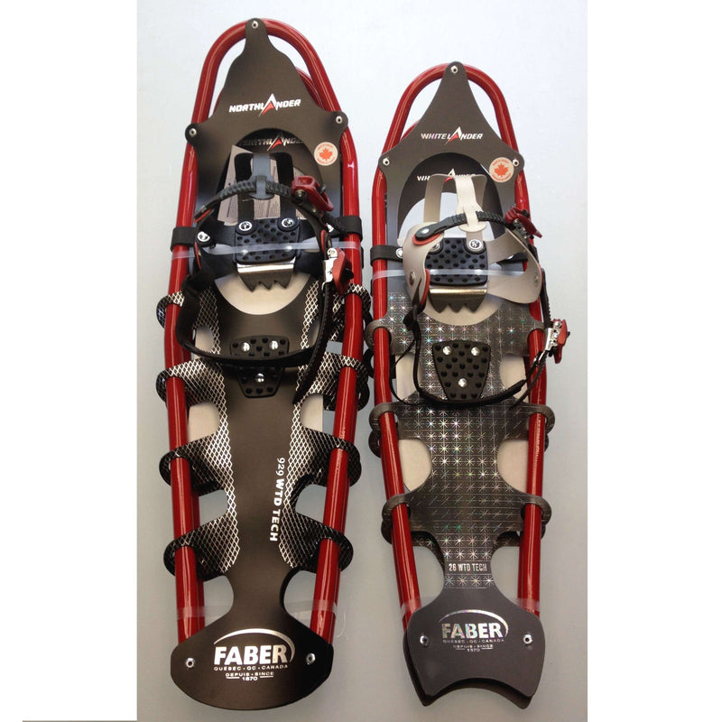 Faber White Lander Womens Snowshoe [Max 150Lbs] 2 Styles,EQUIPMENTSNOWSHOESTECHNICAL,FABER,Gear Up For Outdoors,