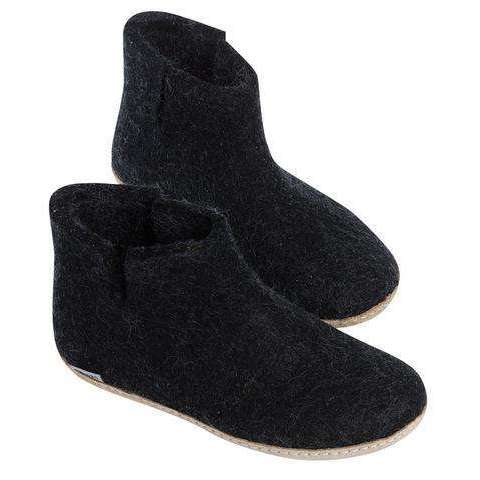 Glerups Unisex The Low Boot with Leather Sole,MENSFOOTWINTERSLIPPERS,GLERUPS,Gear Up For Outdoors,