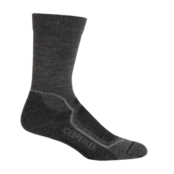 Icebreaker Mens Hike + Lite Crew Sock,,,Gear Up For Outdoors,