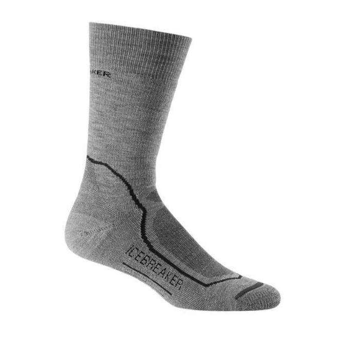 Icebreaker Mens Hike + Medium Crew Socks,,,Gear Up For Outdoors,