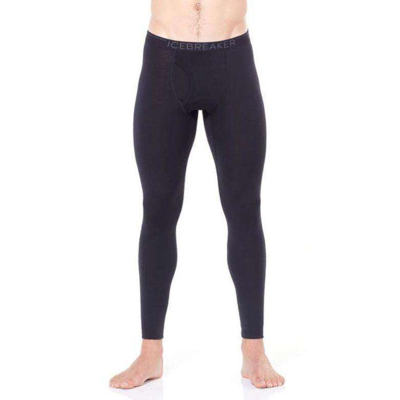 Icebreaker Mens Oasis 200 Leggings With Fly,MENSUNDERWEARBOTTOMS,ICEBREAKER,Gear Up For Outdoors,