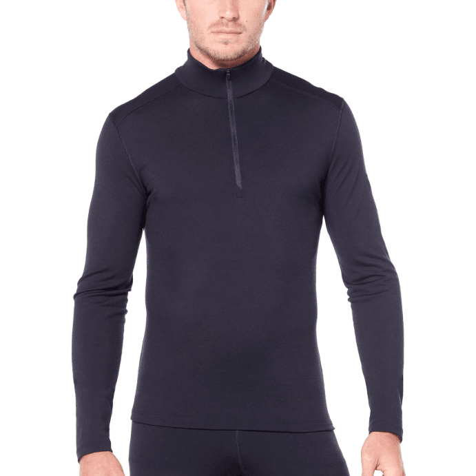 Icebreaker Mens Oasis 200 Long Sleeve Half Zip,MENSMIDLAYERSFULL ZIP,ICEBREAKER,Gear Up For Outdoors,