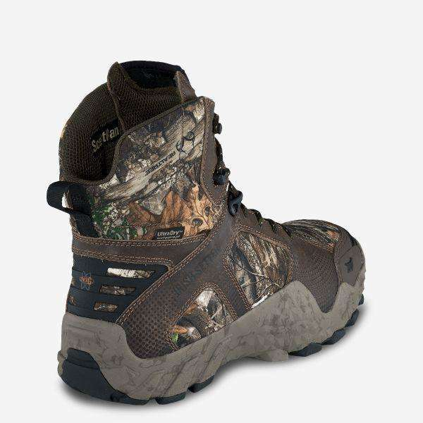 Irish Setter Mens VAPRTREK 400G Wateproof 8 inch Boot,MENSFOOTWEARHUNTING,IRISH SETTER,Gear Up For Outdoors,