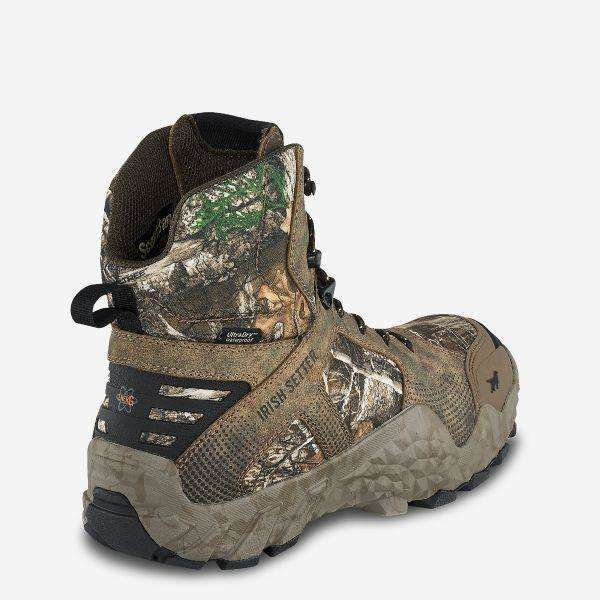 Irish Setter Mens VAPRTREK 800G Wateproof 8 inch Boot,MENSFOOTWEARHUNTING,IRISH SETTER,Gear Up For Outdoors,