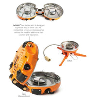 JetBoil Genesis Luna Satellite Burner,EQUIPMENTCOOKINGSTOVE CANN,JETBOIL,Gear Up For Outdoors,