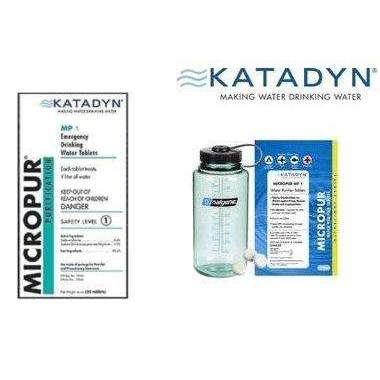 Katadyn Micropur Purification Tablets,EQUIPMENTHYDRATIONWAT TRTMNT,KATADYN,Gear Up For Outdoors,