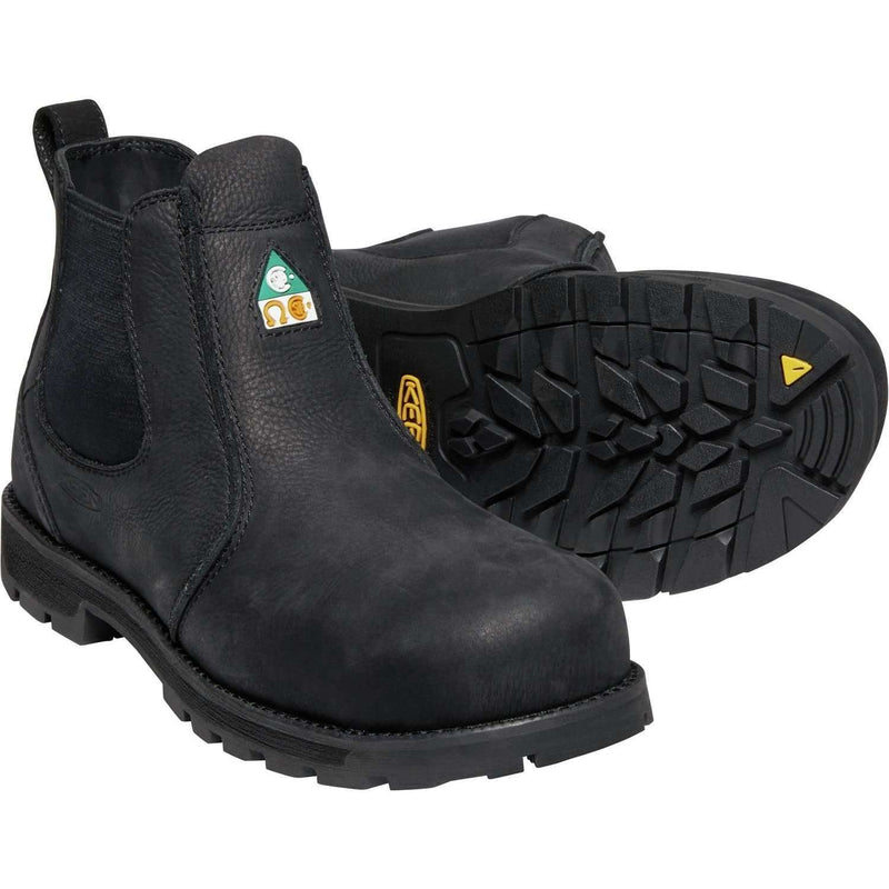 Keen Mens CSA Seattle Romeo Work Boot (Carbon Fiber Toe),MENSFOOTWEARSAFTEY CSA,KEEN,Gear Up For Outdoors,