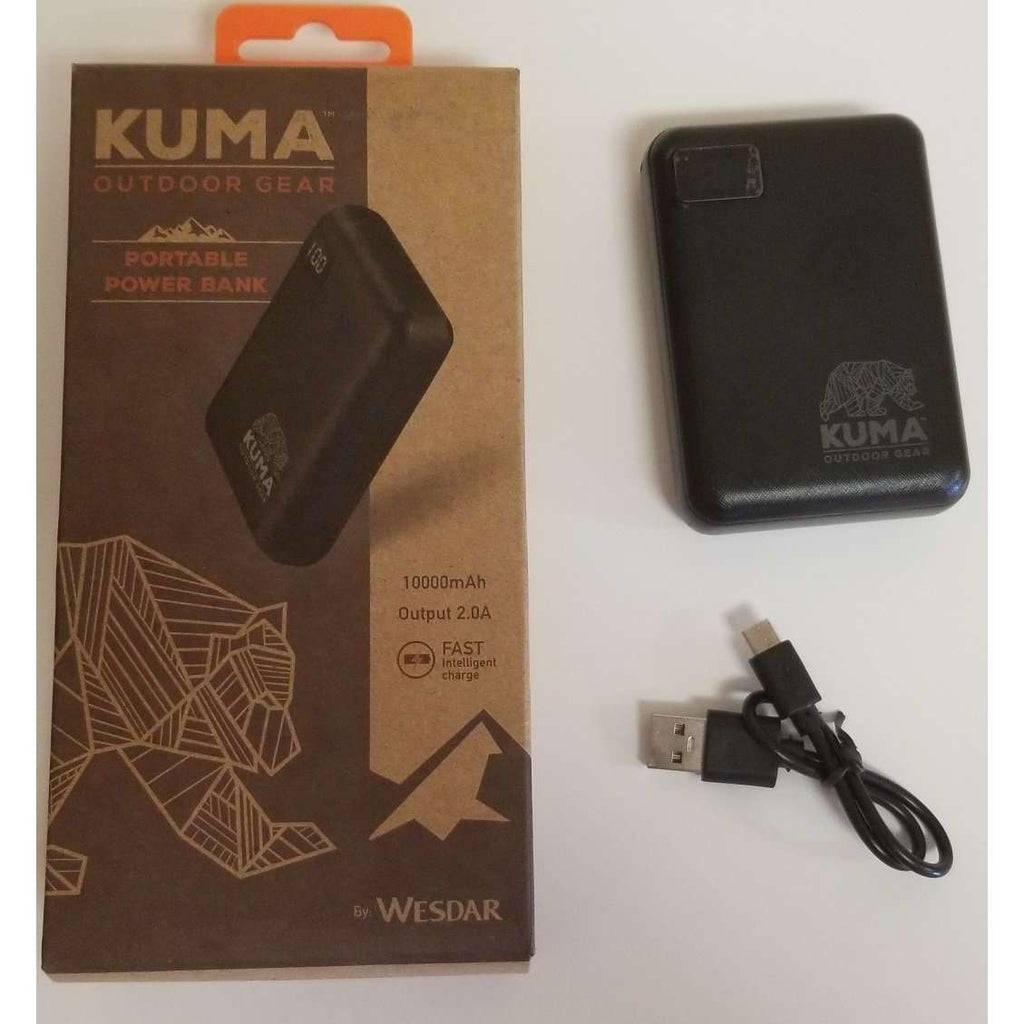 Kuma 10,000 mAh Power Bank,EQUIPMENTFURNITURECHAIRS,KUMA,Gear Up For Outdoors,