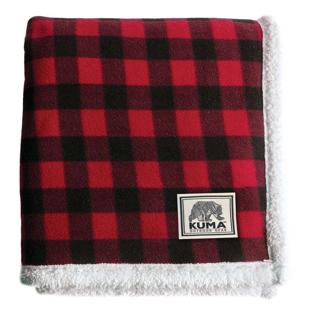 Kuma Lumberjack Sherpa Throw Large,EQUIPMENTSLEEPINGACCESSORYS,KUMA,Gear Up For Outdoors,