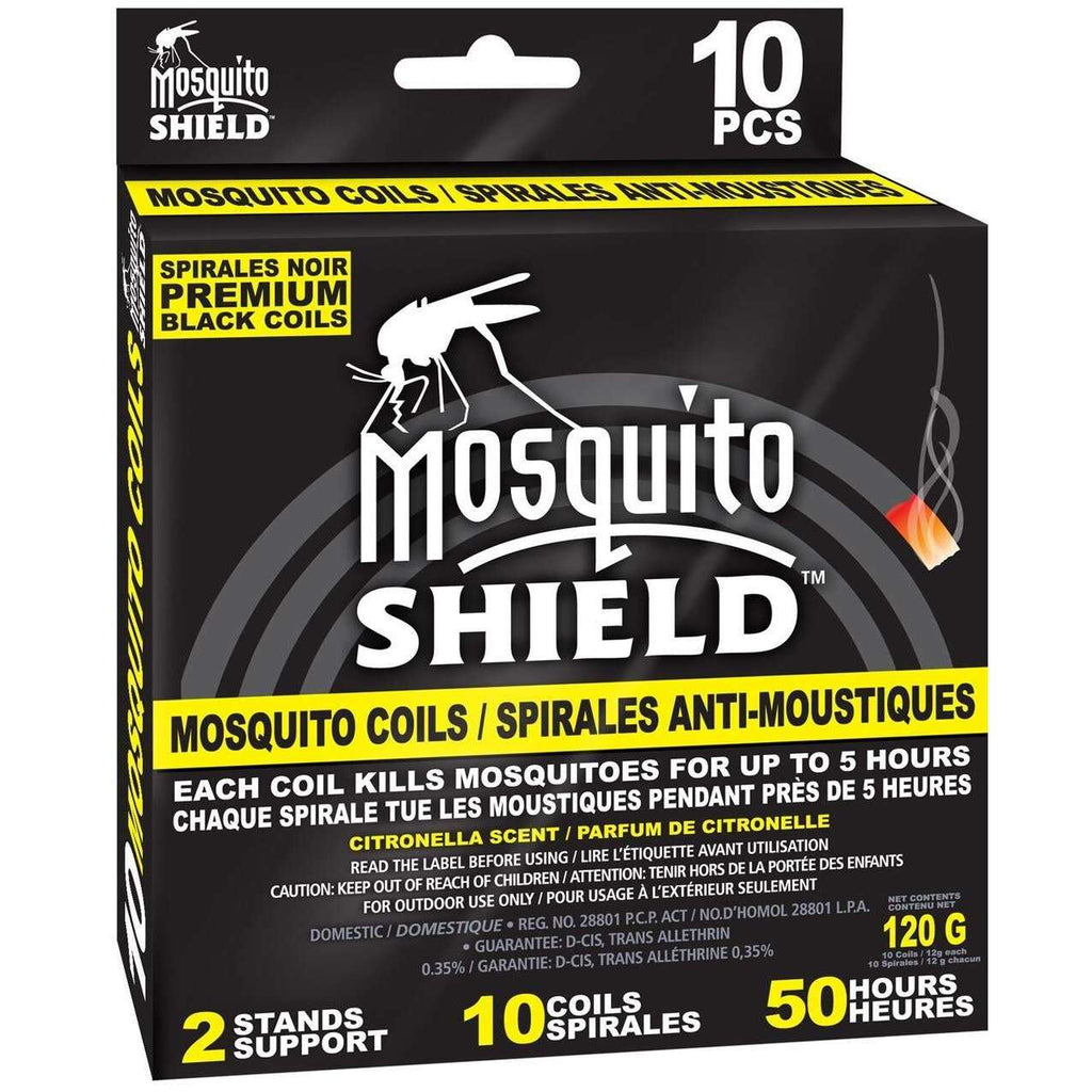 Mosquito Shield Mosquito Coils - 10/Pack,EQUIPMENTPREVENTIONBUG STUFF,MOSQUITO SHIELD,Gear Up For Outdoors,