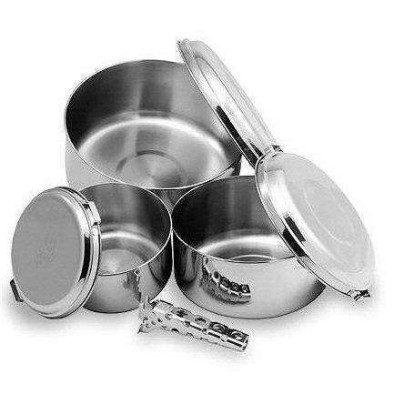 MSR Alpine 4 Pot Set,EQUIPMENTCOOKINGPOTS PANS,MSR,Gear Up For Outdoors,