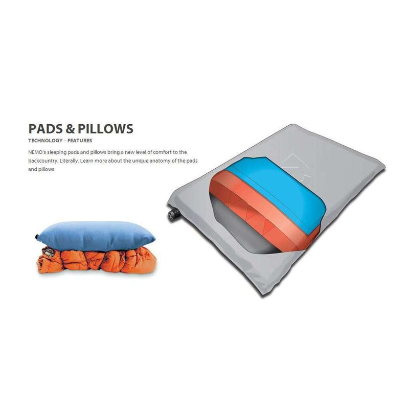 Nemo Astro Insulated Regular Sleeping Pad - Updated,EQUIPMENTSLEEPINGMATTS AIR,NEMO EQUIPMENT INC.,Gear Up For Outdoors,