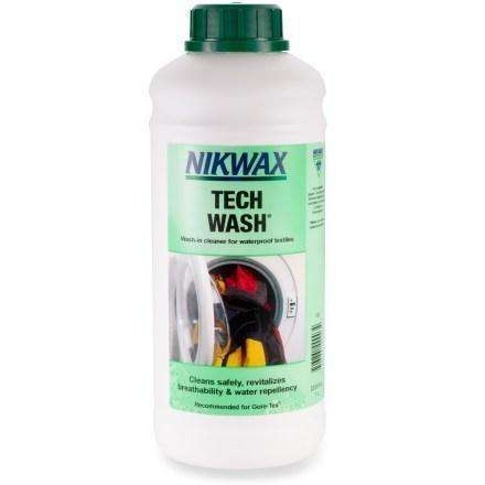 Nikwax Tech Wash 2 Sizes,EQUIPMENTMAINTAINCLTHNG PRT,NIKWAX,Gear Up For Outdoors,