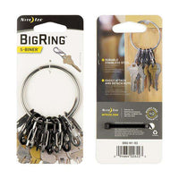 Nite Ize BigRing Steel S-Biner,EQUIPMENTMAINTAINFASTNERS,NITEIZE,Gear Up For Outdoors,