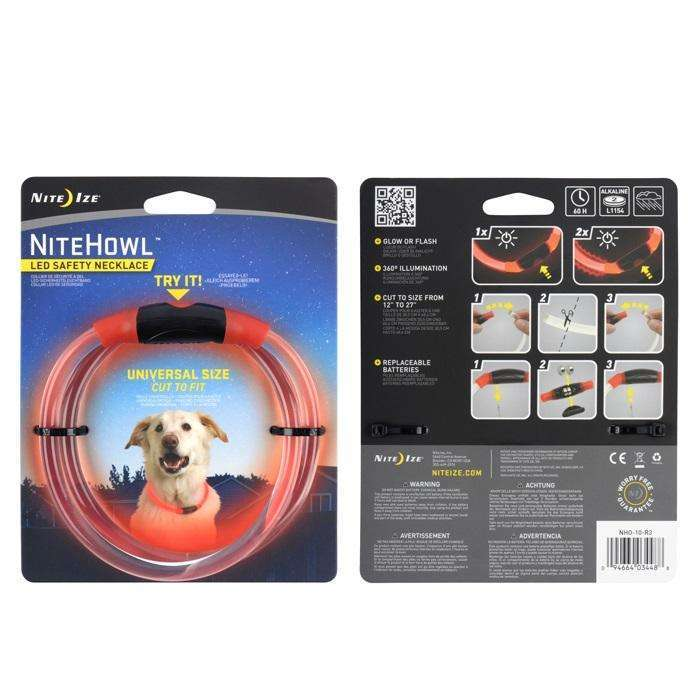 Nite Ize NiteHowl LED Safety Necklace,EQUIPMENTLIGHTACCESSORYS,NITEIZE,Gear Up For Outdoors,