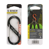 Nite Ize S-Biner Dual Carabiner #4 Aluminum,EQUIPMENTMAINTAINFASTNERS,NITEIZE,Gear Up For Outdoors,