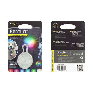 Nite Ize SpotLit Disco Select Pet Light,EQUIPMENTLIGHTACCESSORYS,NITEIZE,Gear Up For Outdoors,
