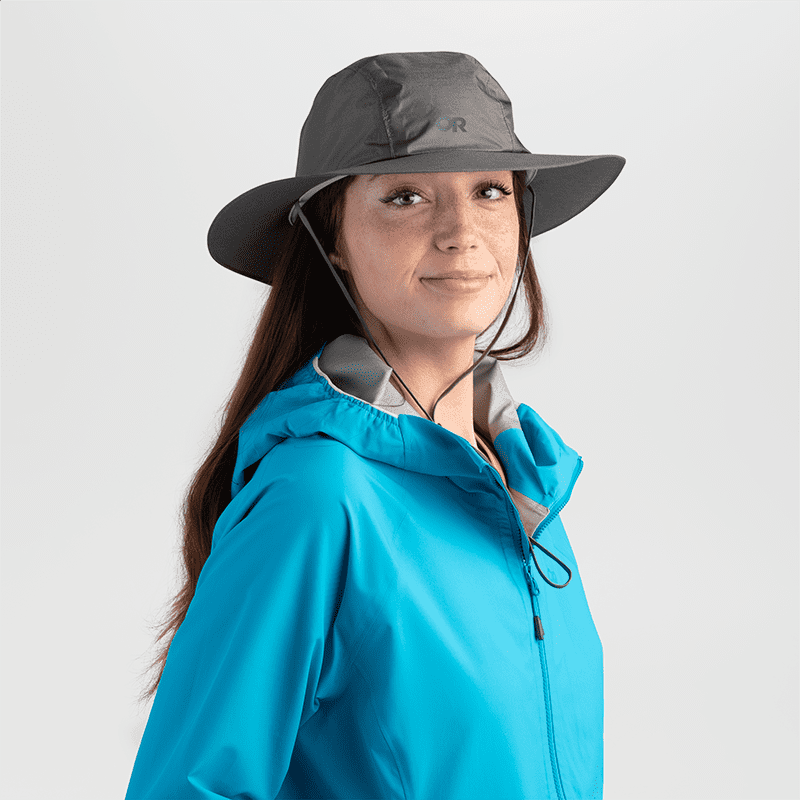 Outdoor Research Helium Rain Full Brim Hat,UNISEXHEADWEARWIDE BRIM,OUTDOOR RESEARCH,Gear Up For Outdoors,