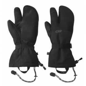 Outdoor Research Mens HighCamp 3 Finger Glove,MENSGLOVESINSULATED,OUTDOOR RESEARCH,Gear Up For Outdoors,